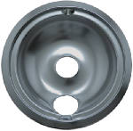 "Range Kleen 119A Electric Range Drip Pan, ""B"" Series Plug-In Element, Chrome, 6-In."