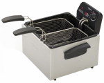 National Presto Ind 05466 ProFry Deep Fryer, Dual-Basket, Stainless Steel
