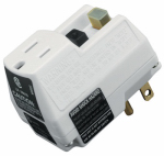Southwire/Coleman Cable 14650006-6 GFCI Surge Protector Plug