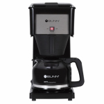 Bunn-O-Matic GRB-D Coffee Brewer for High Altitudes, Black, 10-Cup