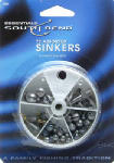 Maurice Sporting Goods 1001 Fishing Sinker Set, Dial Box, 72-Pk.