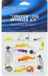 Maurice Sporting Goods SBJIGKIT Spinner Kit, Lunker Jig, 10-Pk.
