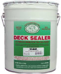 Sun Frog Products CL5 5-Gallon Clear Oil-Based Deck Sealer