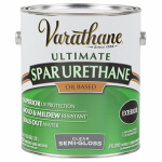 Rust-Oleum 9351 Varathane Spar Urethane, Oil-Based, Exterior, Satin Gloss, 1-Pt.