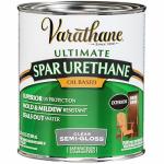 Rust-Oleum 9441H Varathane Spar Urethane, Oil-Based, Exterior, Semi-Gloss, 1-Qt.