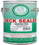 Sun Frog Products RD1G Oil-Based Transparent Deck Sealer, Redwood Tone, 1-Gal.