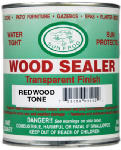 Sun Frog Products RDQT 1-Qt. Redwood Toned Oil-Based Sealer & Finish