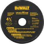 Dewalt Accessories DW4725 High-Performance Masonry Blade, 4.5-In.