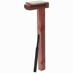Solar Group DPK00000 Mailbox Drive-In. Post Kit, Cedar With Steel Anchor, 41 x 4 x 4-In.