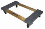 Gleason Industrial Prd 33800 1000-Lb. Carpeted Furniture Dolly