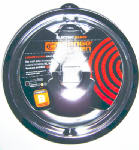 "Range Kleen P120 Electric Range Drip Pan, ""B"" Series Plug-In Element, Porcelain, 8-In."