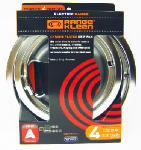 "Range Kleen 1012-4X Electric Range Drip Pan Set, ""A"" Series Plug-In Element, Chrome, 4-Pk."