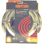 "Range Kleen 11920-4X Electric Range Drip Pan Set, ""B"" Series Plug-In Element, Chrome, 4-Pk."