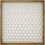 Flanders 10355.012020 Spun Fiberglass Grille Furnace Filter, 20x20x1-In., Must Be Purchased in Quantities of 12
