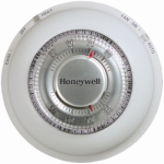 Honeywell Home/Bldg Center T87N1000 Round Heat/Cool Thermostat