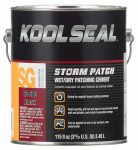 Kst Coating KS0083300-16 Roof Storm Patch, Black 0.9 Gal.
