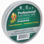 Shurtech Brands 04147 Vinyl Electrical Tape, Gray, .75-Inch x 66-Ft.