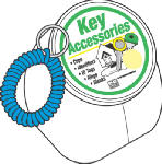 Hy-Ko Prod KT154 50PK Wrist Key Holder
