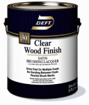 Deft/Ppg Architectural Fin DFT017/01 Deft Gallon Clear Satin Wood Finish