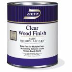 Deft/Ppg Architectural Fin DFT017/04 Wood Finish, Clear Satin, 1-Qt.