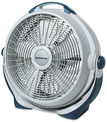 Lasko 3300 wind machine high velocity 20 directional for 16 inch window box fan