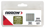 Arrow Fastener BN1816BCS 2000-Pack 1-Inch Brown Brad Nails