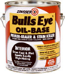 Zinsser & 03541 Bulls Eye Primer Sealer & Stain Killer, Oil-Base, 1-Gal.