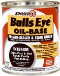 Zinsser & 03544 Bulls Eye Oil-Based Primer/Sealer & Stain Killer, 1-Qt.
