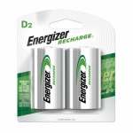 "Eveready Battery NH50BP-2 2-Pack ""D"" Rechargeable Batteries"
