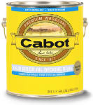 Cabot/Valspar 7601-07 1-Gallon White Base Oil Decking Stain