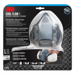 3M 7513PA1-A-PS Professional Respirator, Large