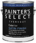 True Value JES9-GL GAL White Exterior Satin Paint - 4 Pack