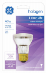 G E Lighting 47576 40-Watt Halogen Reflector Floodlight Bulb