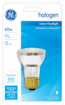 G E Lighting 47578 60-Watt Halogen Reflector Floodlight Bulb