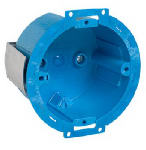 Thomas & Betts BH614R Super Blue Round Old Work Ceiling Box