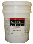 True Value Mfg JF1-5G Everyday Interior Paint, Flat, Latex, White, 5-Gal.