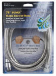 Whedon Products AF206C 78-Inch Metal Stretch Shower Hose