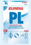"Englewood Marketing Group 62389A Eureka Style ""PL1"" Vacuum Bags, 3-Pack"