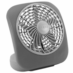 O2cool FD05004 Battery-Powered Personal Fan, 5-In.