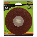 Ali Industries 3071 3-Pack 4.5-Inch 80-Grit Fiber Sanding Disc