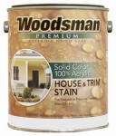 True Value SCA27-GL Gallon Brown Exterior Acrylic Stain - Pack Of 4