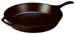 Lodge Mfg L14SK3 Skillet, Seasoned Cast Iron, 15-In.