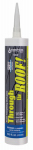 Sashco Sealants 14010 Through The Roof Sealant, Clear, 10.5-oz. Cartridge