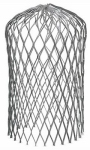 Amerimax Home Products 21059 Mesh Gutter Strainer, Expandable, Aluminum, 3-In.