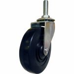 Shepherd Hdwe Prod 9196 Swivel Stem Caster, 4-In. Rubber Wheel