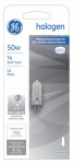 G E Lighting 97665 Quartz Halogen Lamp, T4, 50-Watt