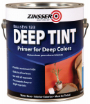 Zinsser & 2031 Bulls Eye 1-2-3 Primer/Sealer & Stain Killer, Deep Tint, Water Base, 1-Gal.