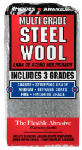 Homax Products/Ppg 10121114 Steel Wool Pads, Assorted, 12-Pk.