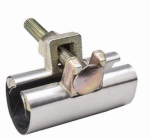 B&K 160-704 .75 x 6-In. Stainless-Steel Pipe Repair Clamp
