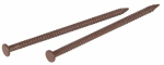 Hillman Fasteners 461792 1-Inch Black Walnut Panel Nails, 6 oz.